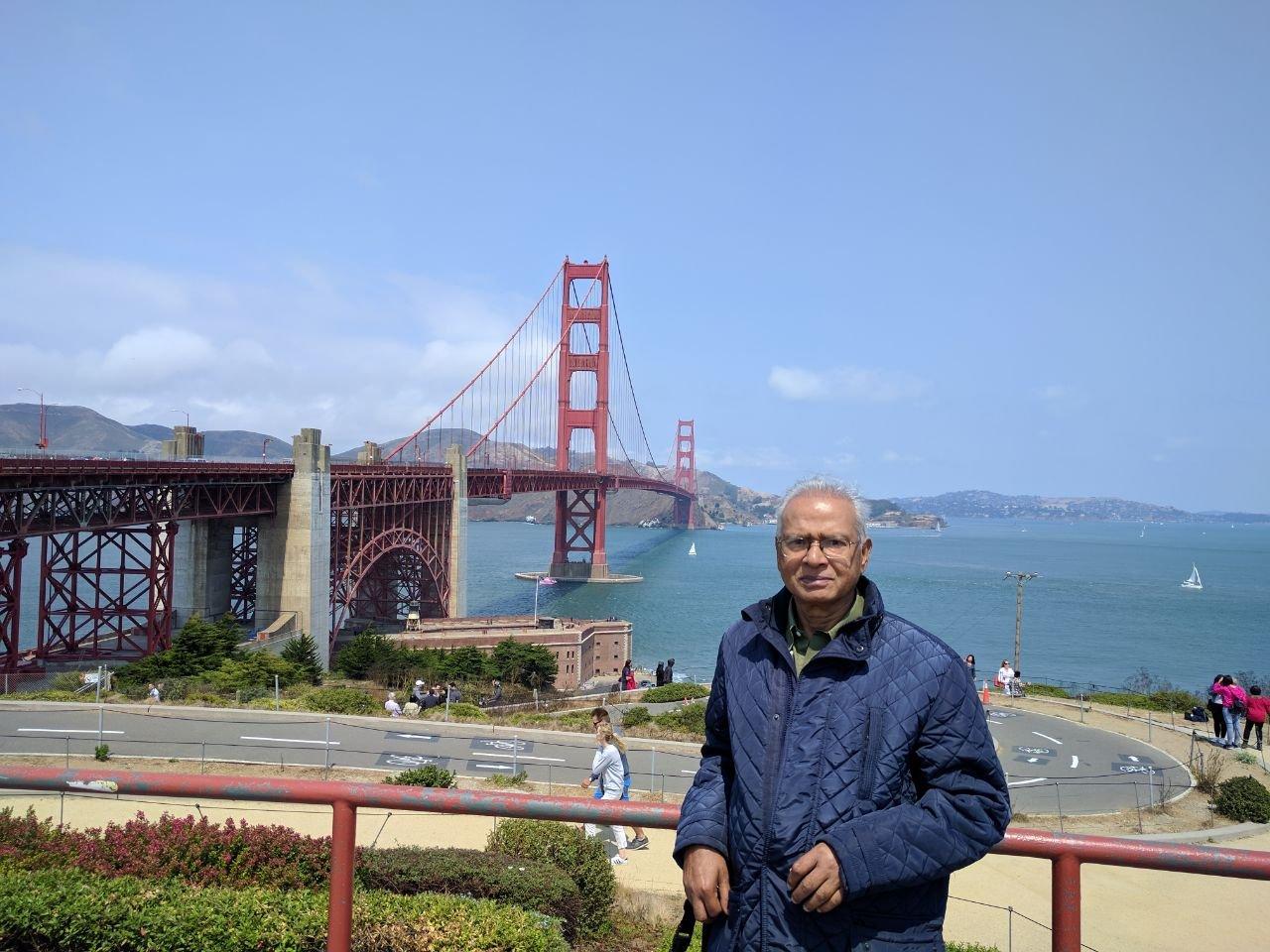 Golden Bridge ,San Francisco.
