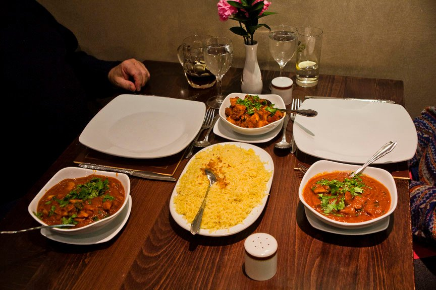Restaurants the hilal indian restaurant in trafford with for Asian indian cuisine