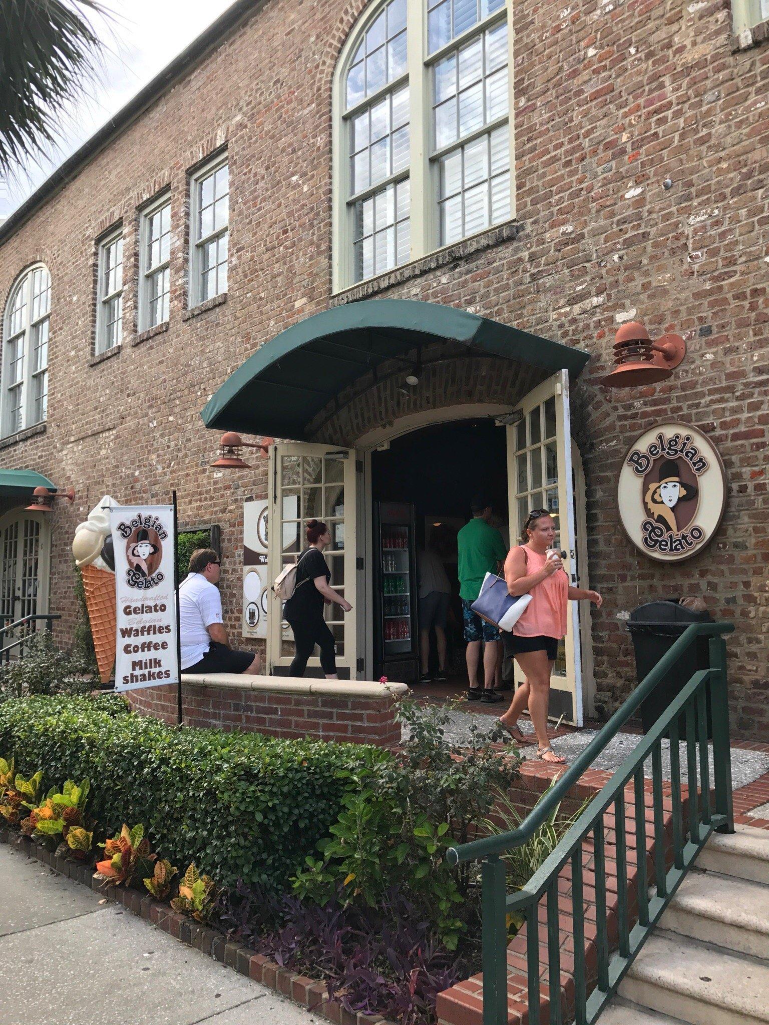 Belgian Gelato Charleston Restaurant Reviews Phone Number