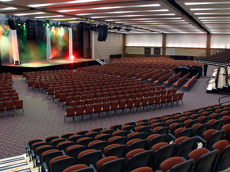 Moncton casino concerts seating