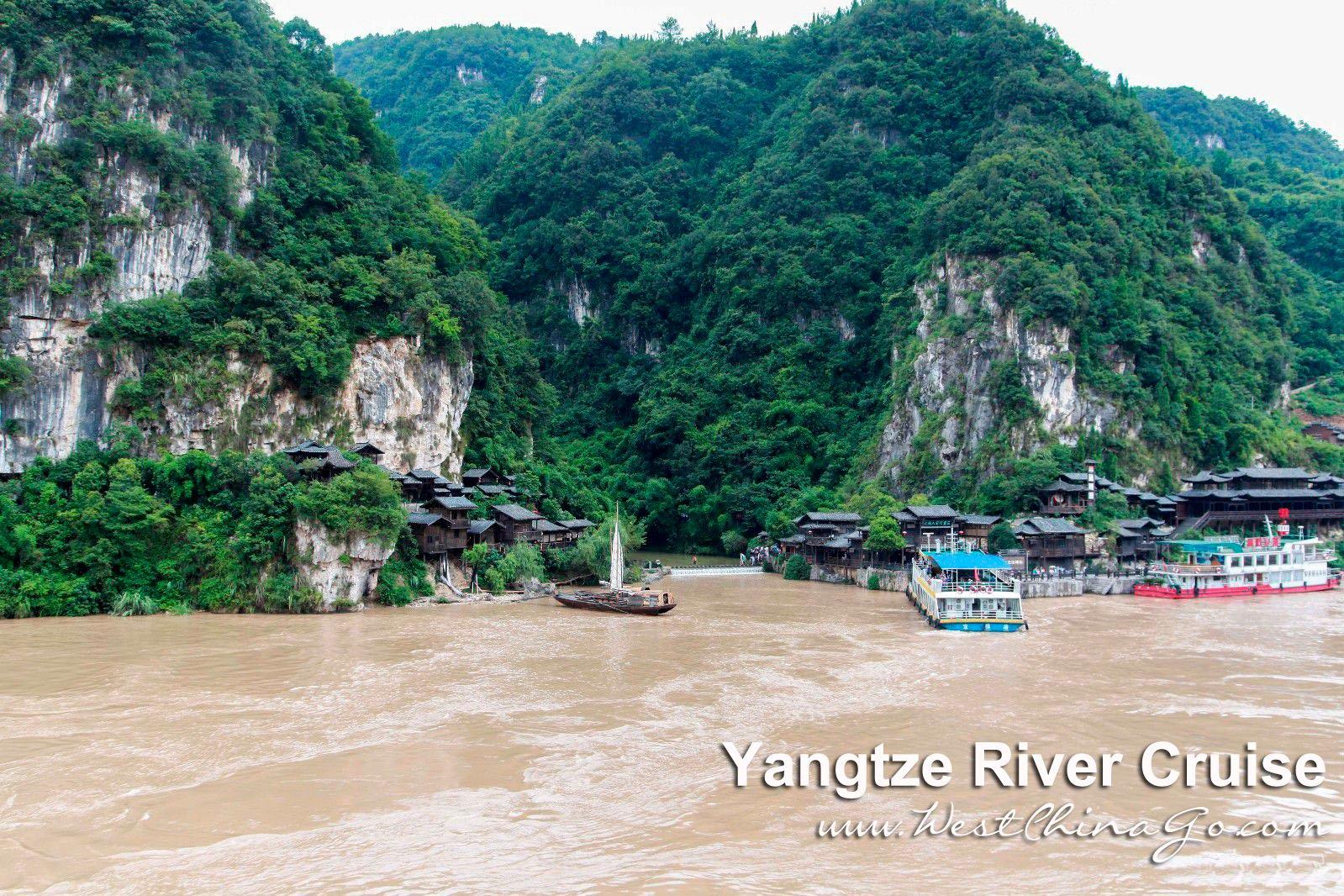 yangtze river cruise sanxia tribe