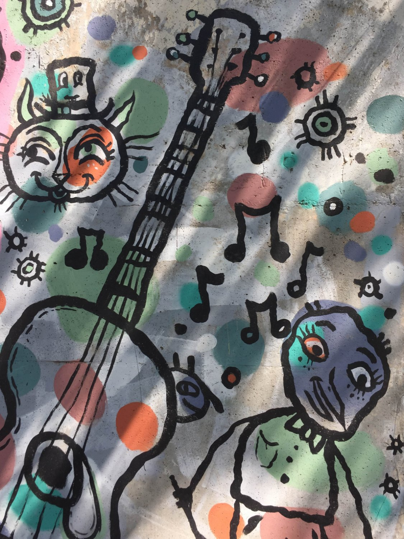 Cabbagetown Art Wall - Atlanta, GA