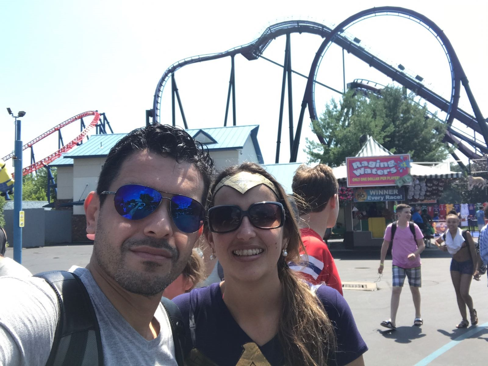 parque Six flags new England