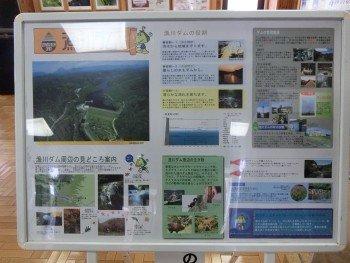 漁川ダム展示室