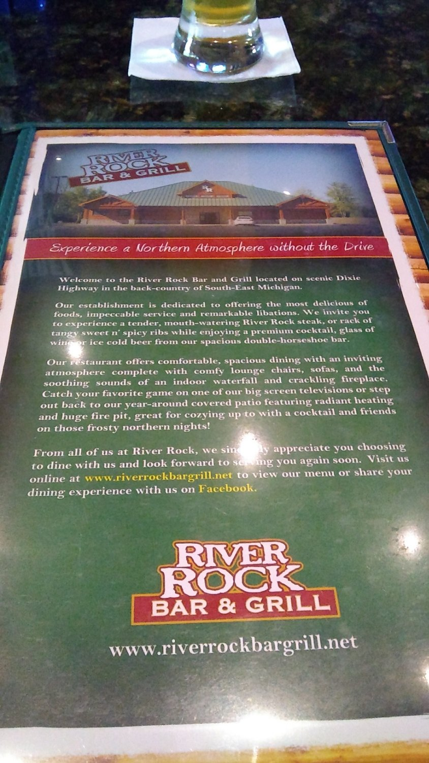 river rock bar and grill holly restaurant reviews phone number