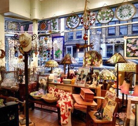 Stained Glass Works and Antiques