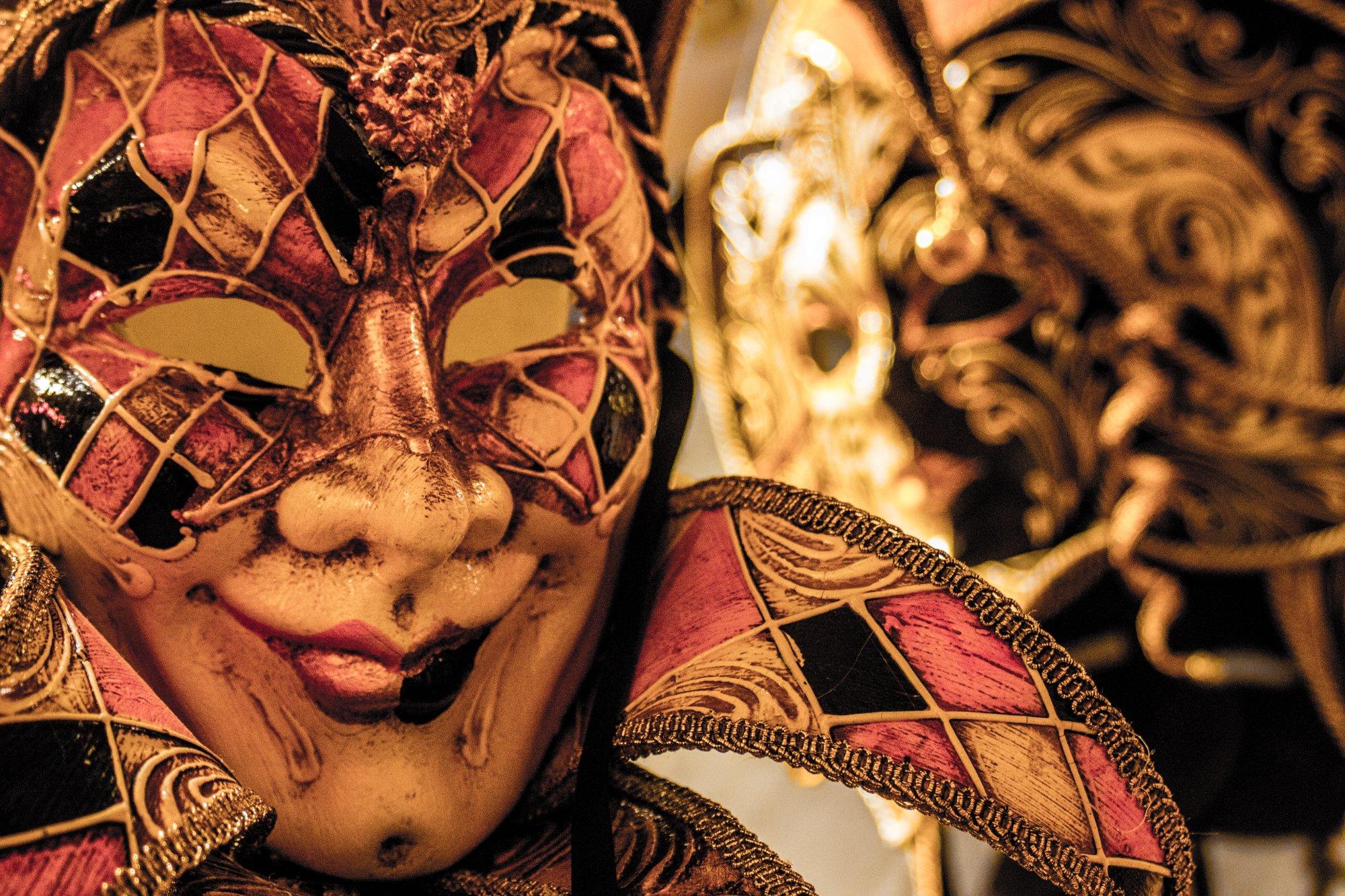 An amazing mask shop