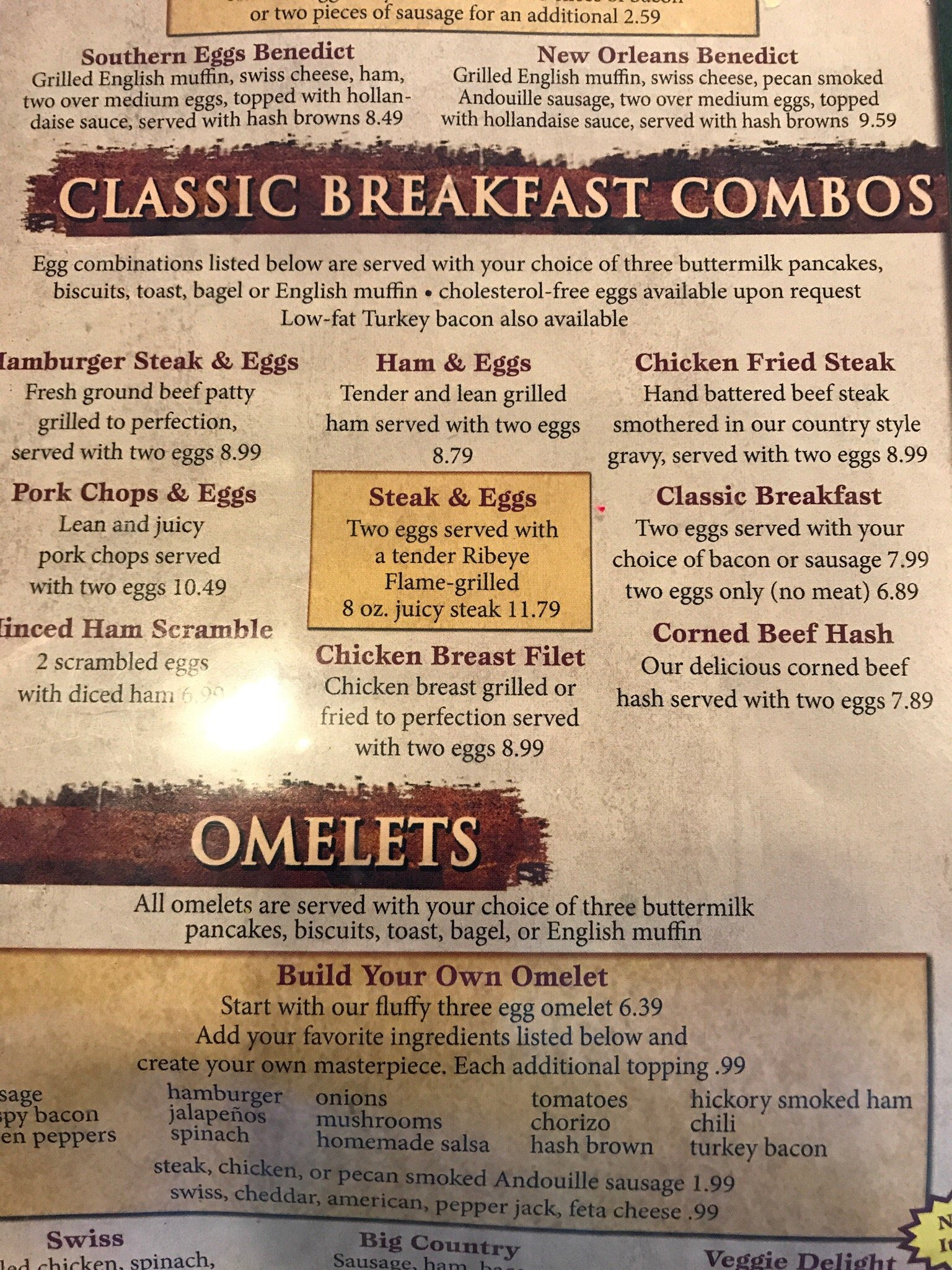 Ol South Pancake House Fort Worth Menu Prices Restaurant