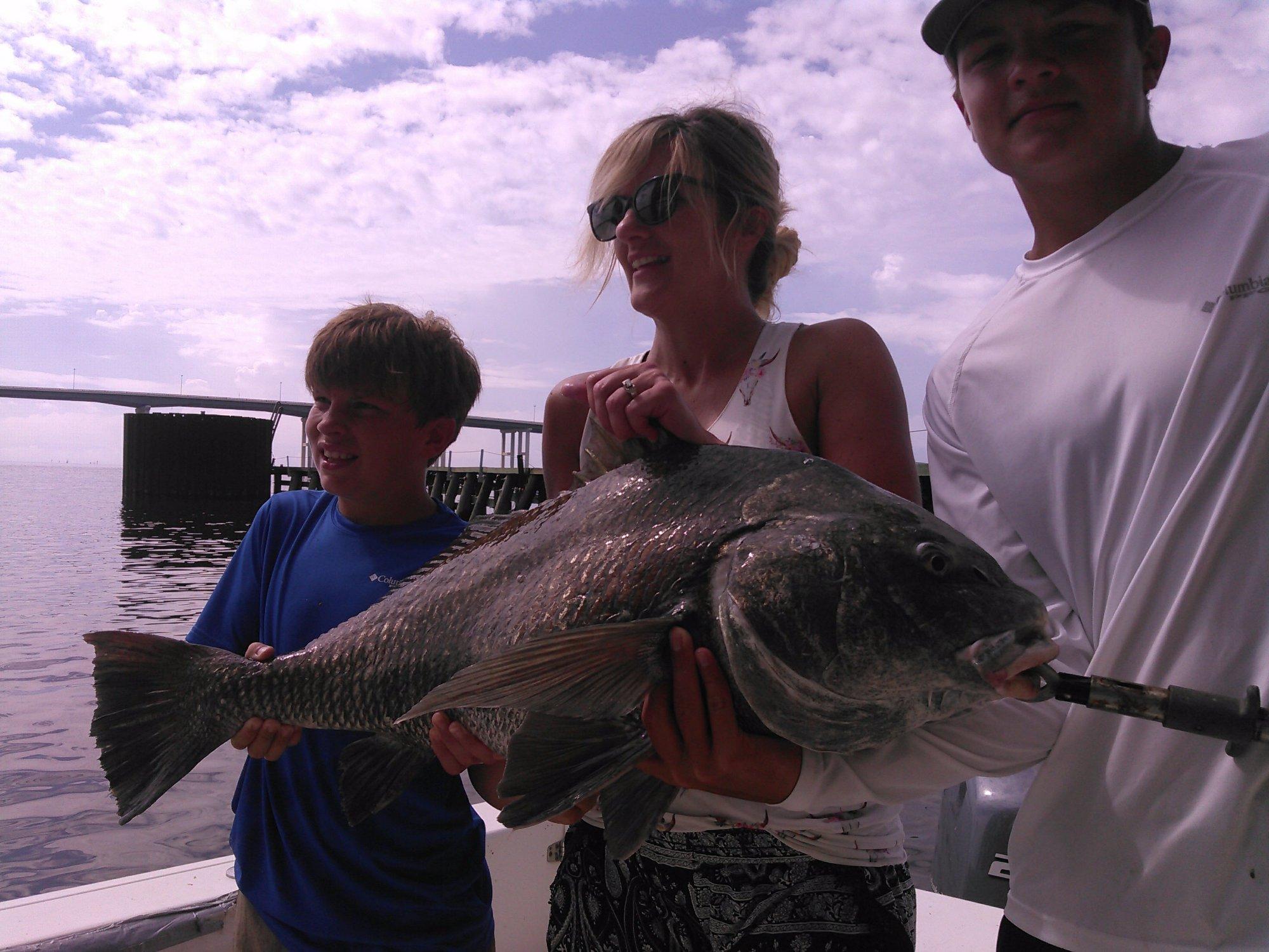 great fishing aboard the whipasnapa charter biloxi, ms