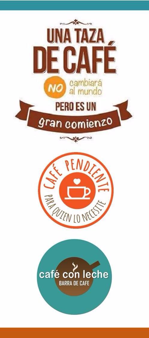 Deja tu cafe pendiente, regalar un buen momento a quien lo necesita siempre es bueno.