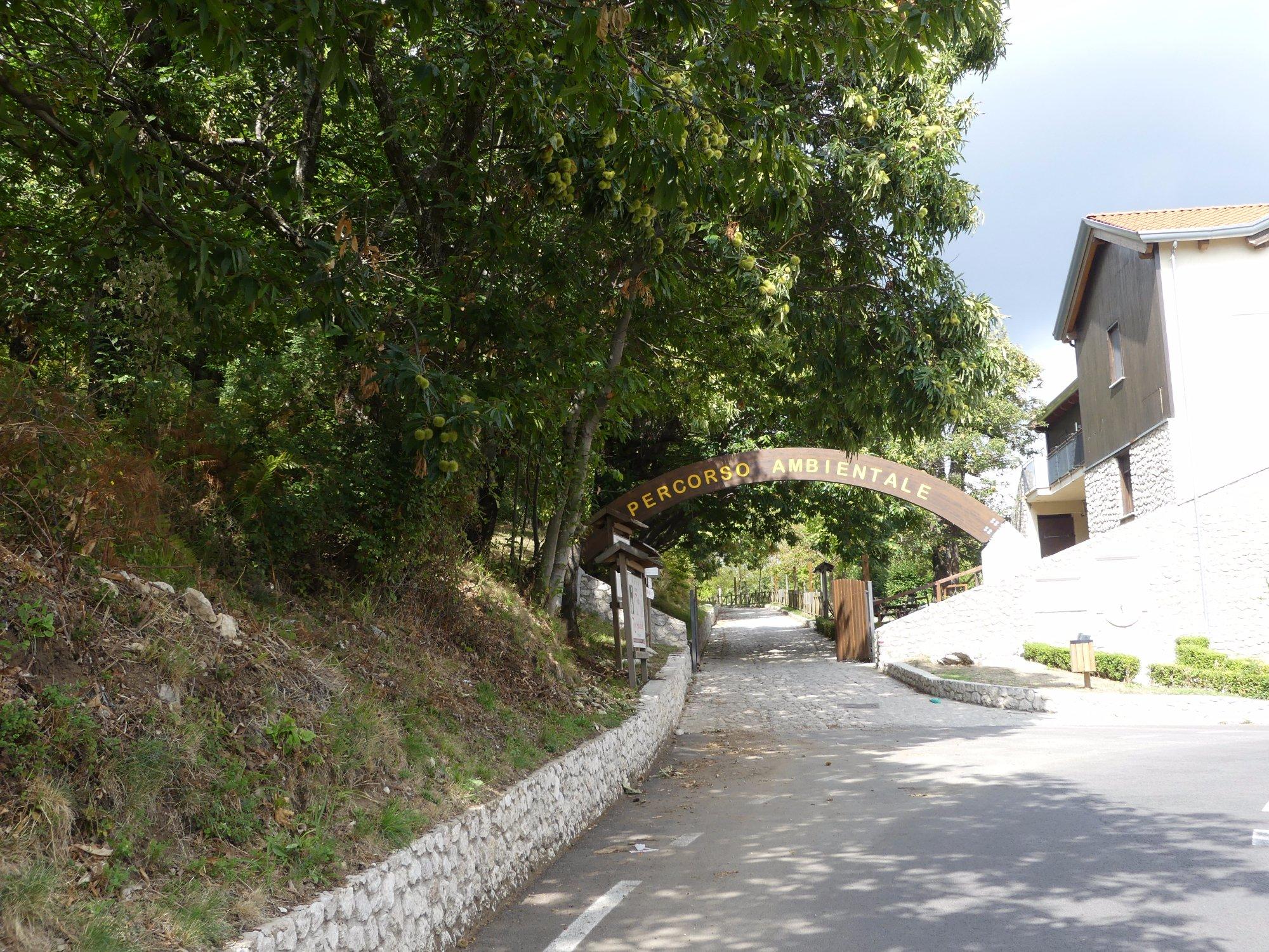 """Percorso Ambientale """"Summonte –Campo San Giovanni"""""""