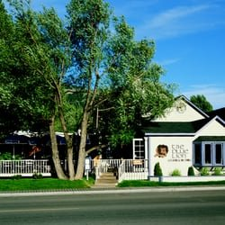 quaint setting in the town of Jackson, WY