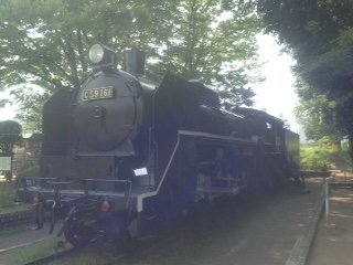 C59 Steam Locomotive