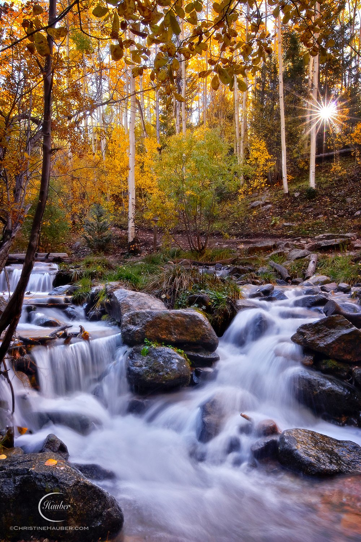 Fall in Santa Fe, NM