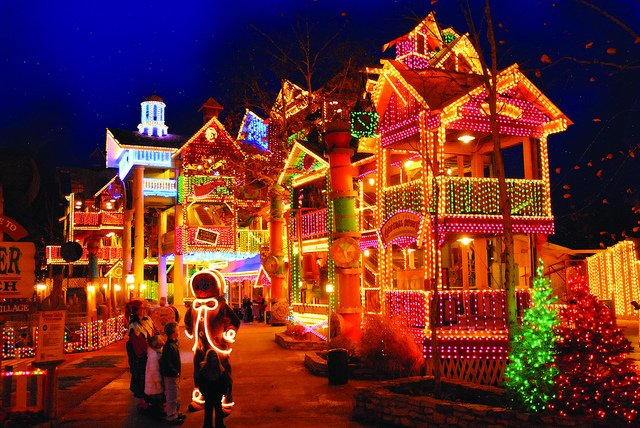 Millions of Lights at Silver Dollar City