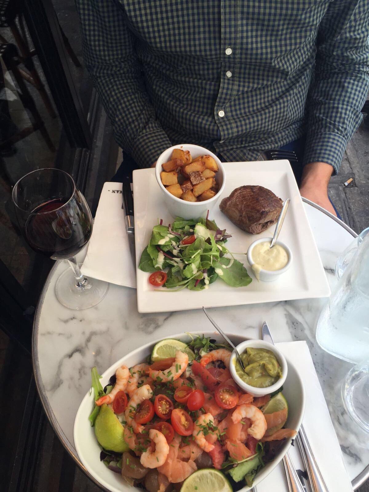 brasserie le marignan, paris - champs-Élysées - restaurant avis