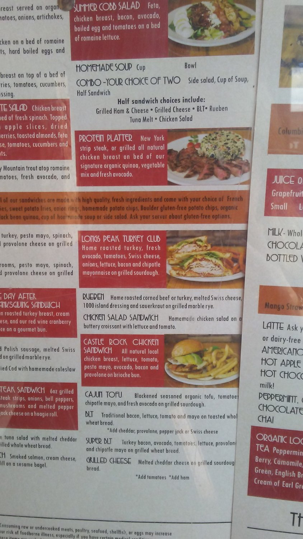 Notchtop Bakery Cafe Estes Park