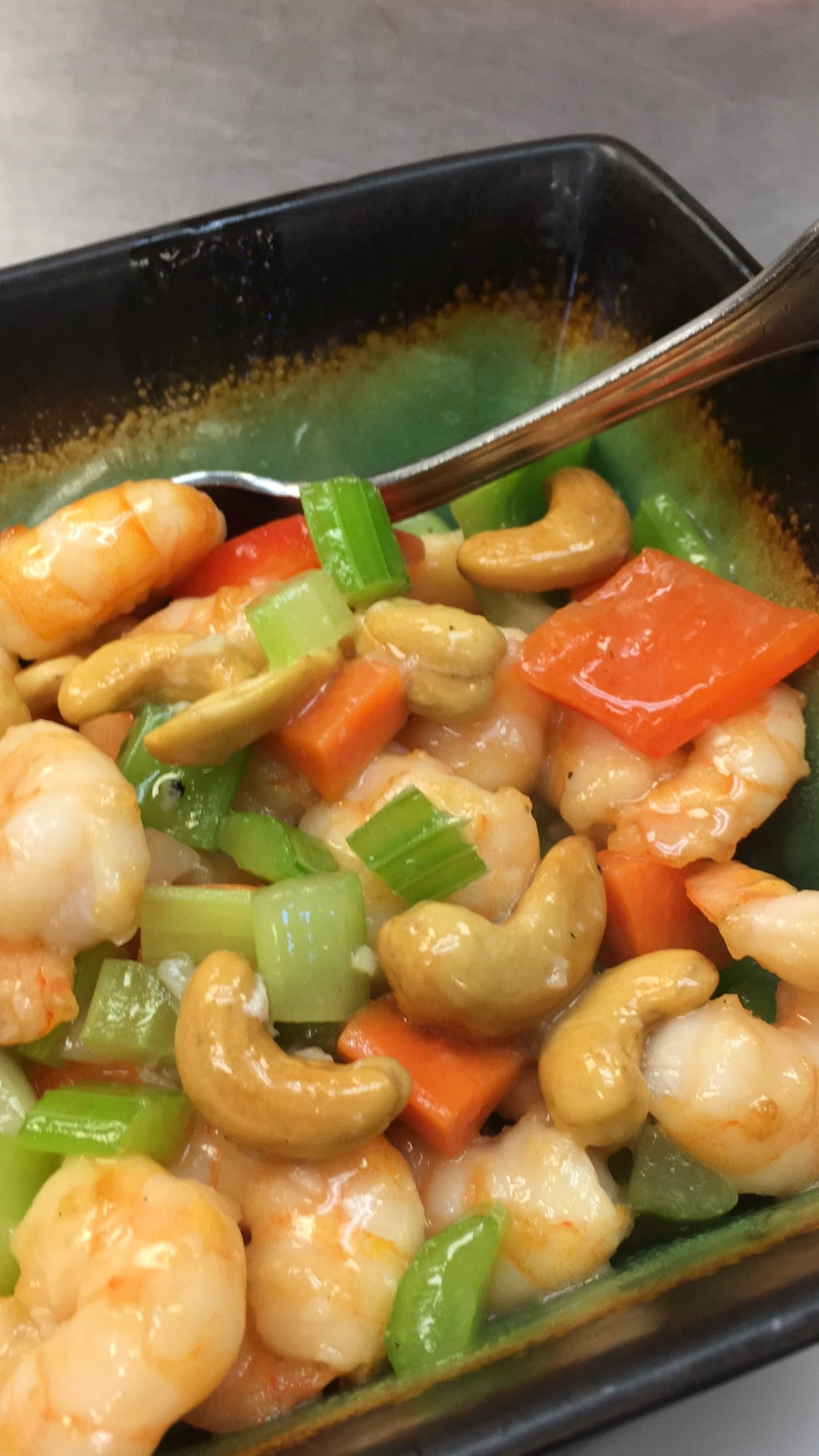 Shrimp with Cashew Nuts