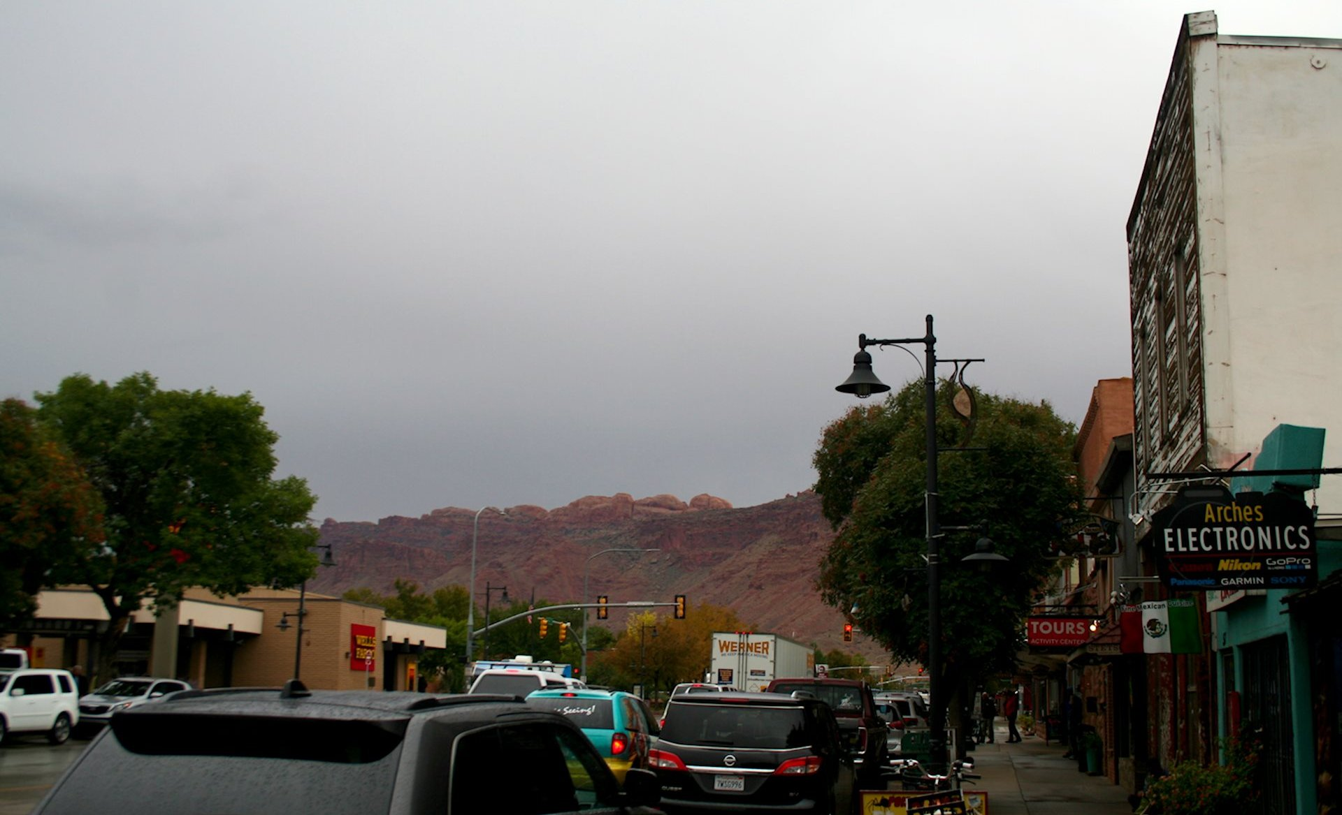 Moab - Town Center (looking West)