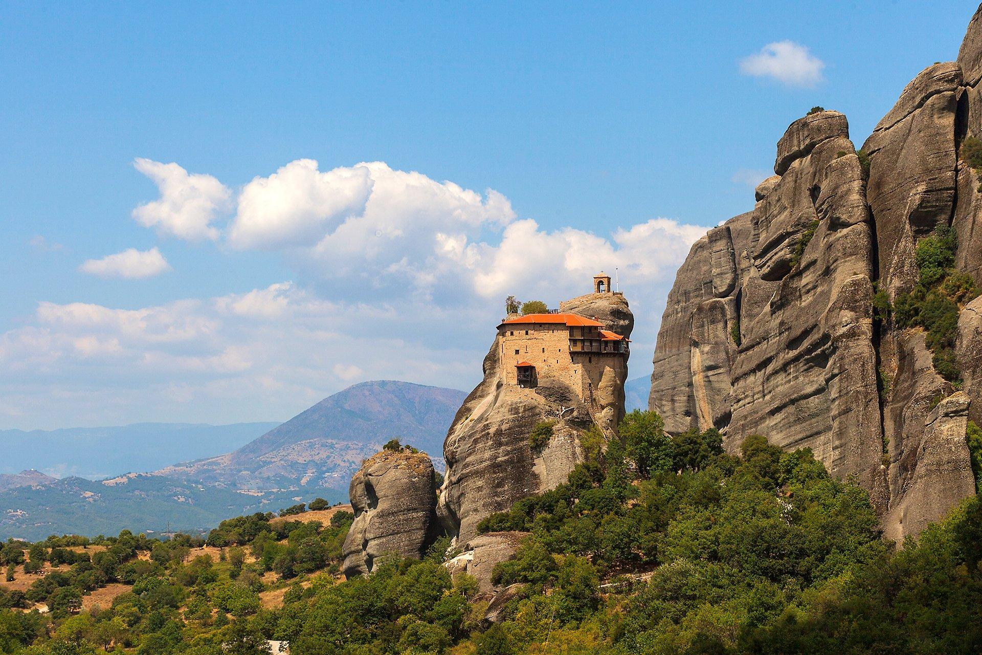 Le Meteore sono il complesso monastico ortodosso più mozzafiato d'Europa. Si trovano al centro d