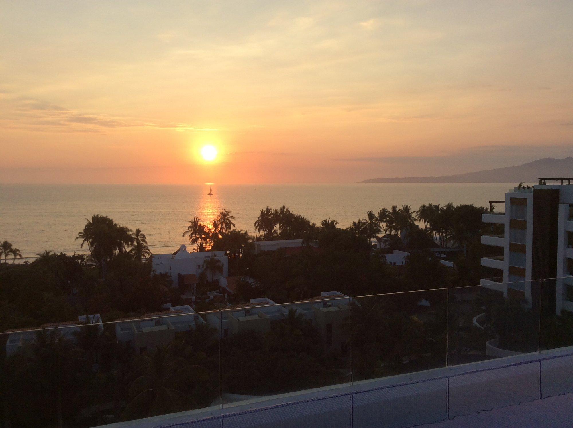 Magnifique coucher de soleil 🌅