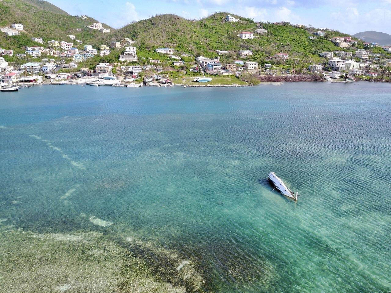 East End Harbour in Tortola - photo by Alton Bertie