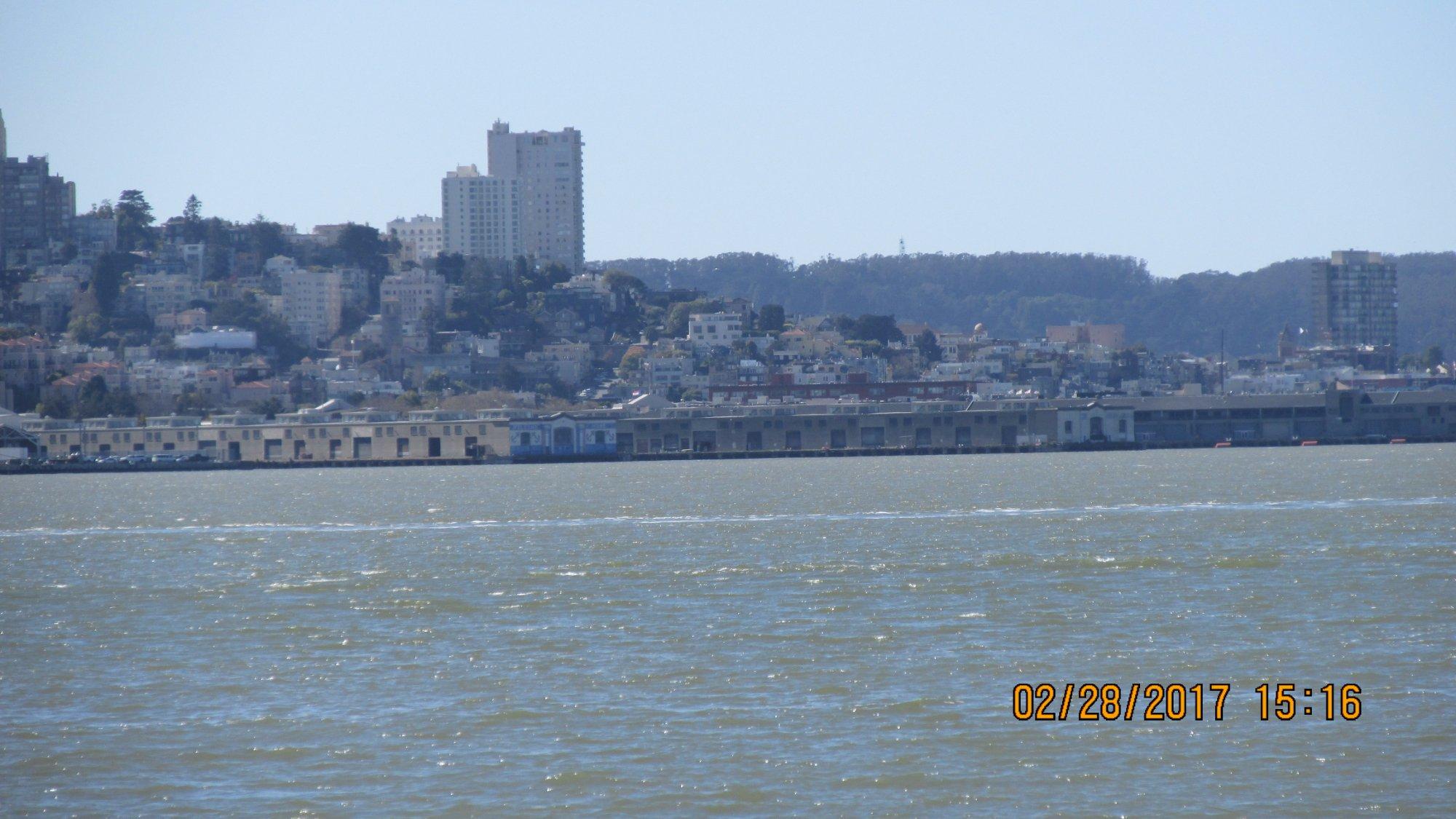 San Fran from Treasure Island