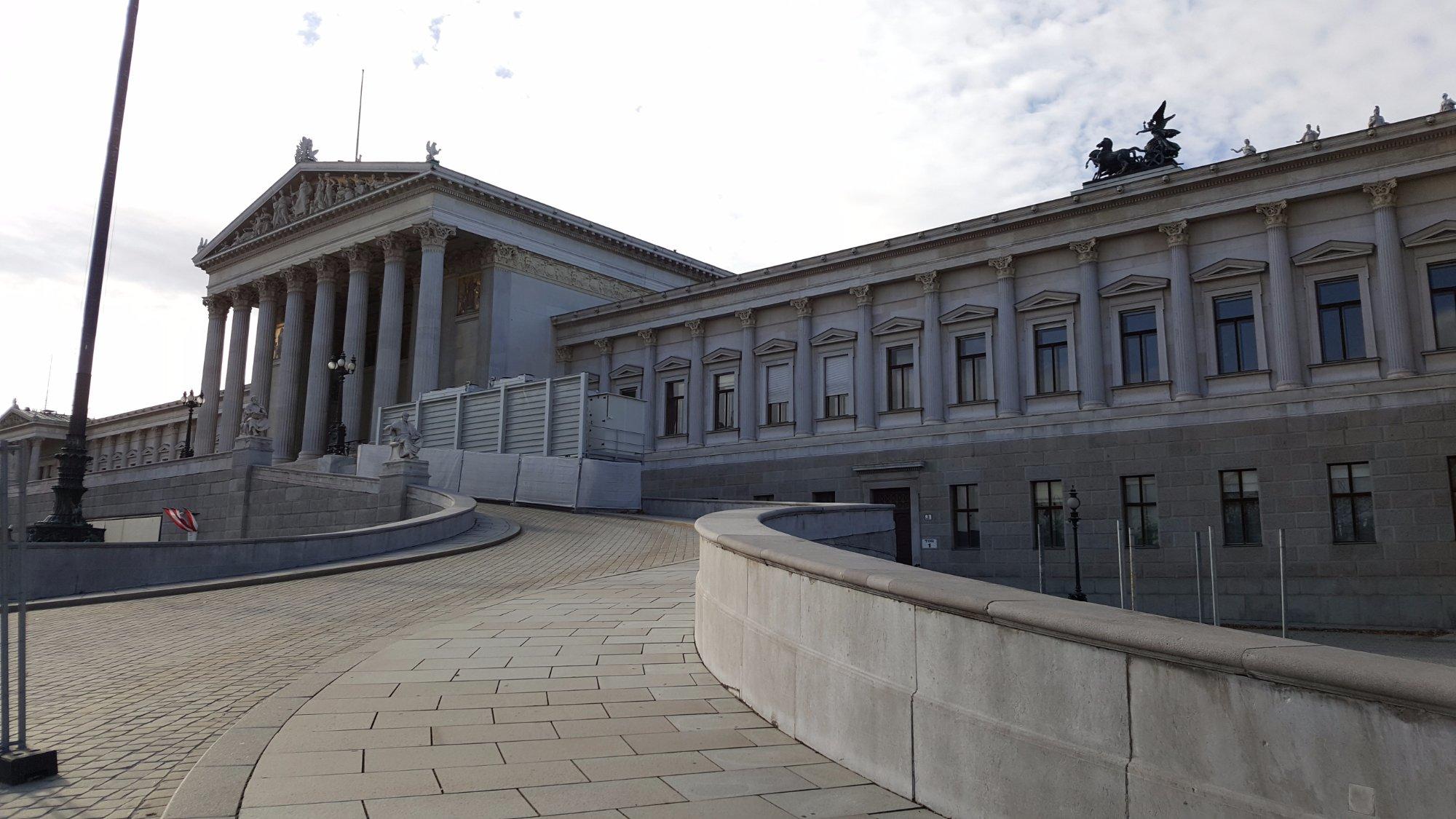 Wiedeń, Parlament