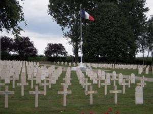 Cimetiere militaire francais