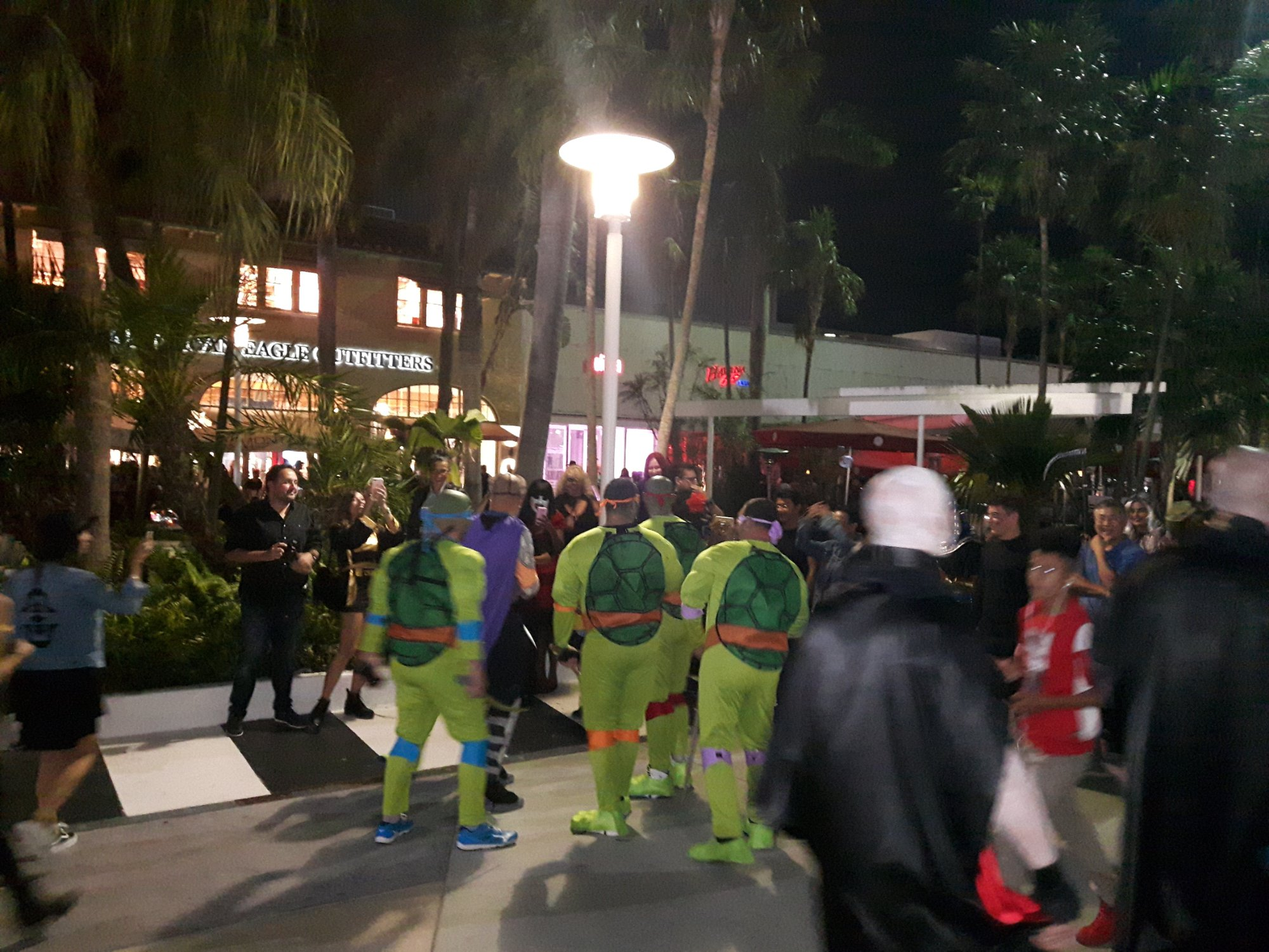 Halloween Collins Street