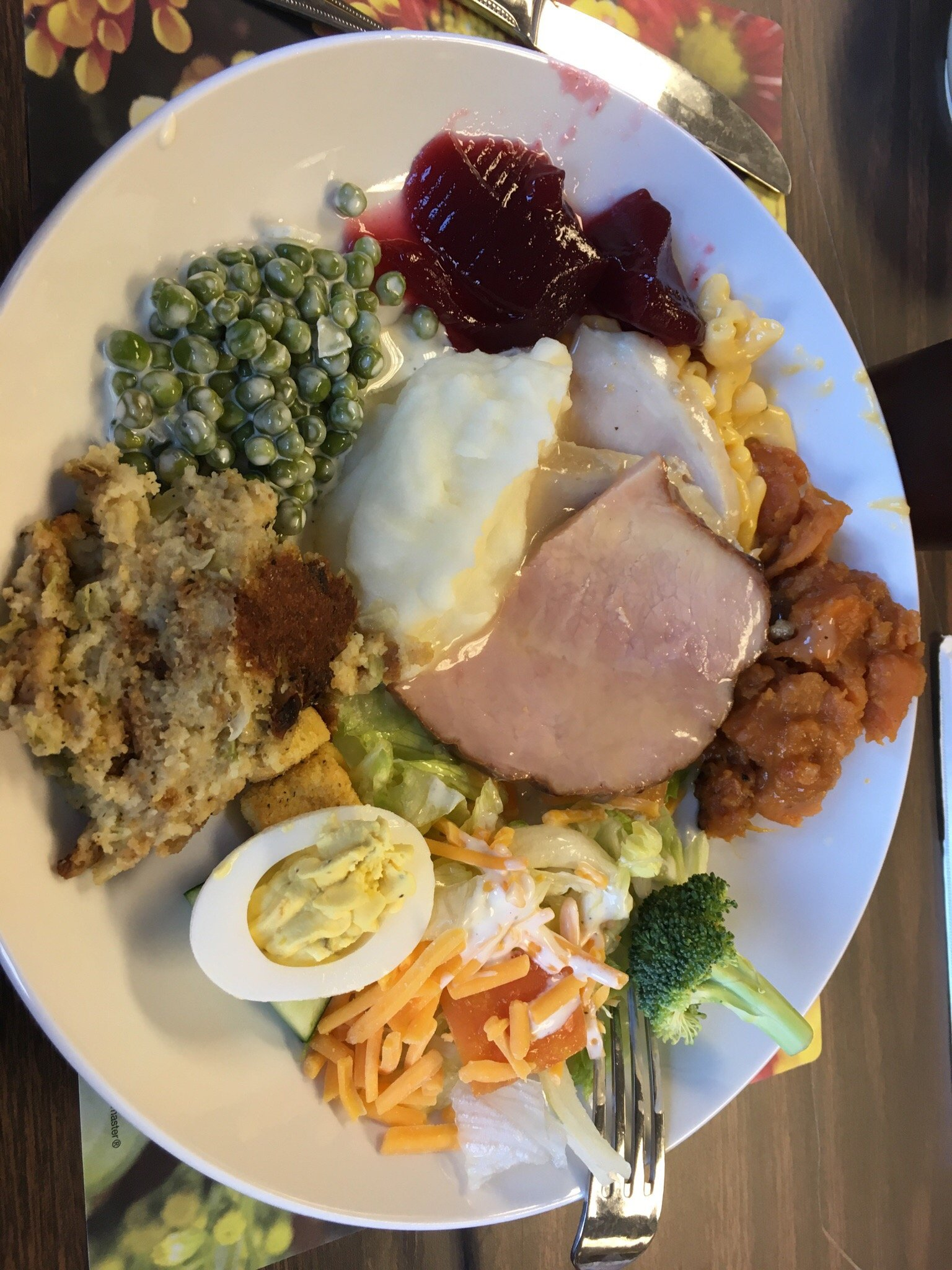 Ohio state parks thanksgiving buffets
