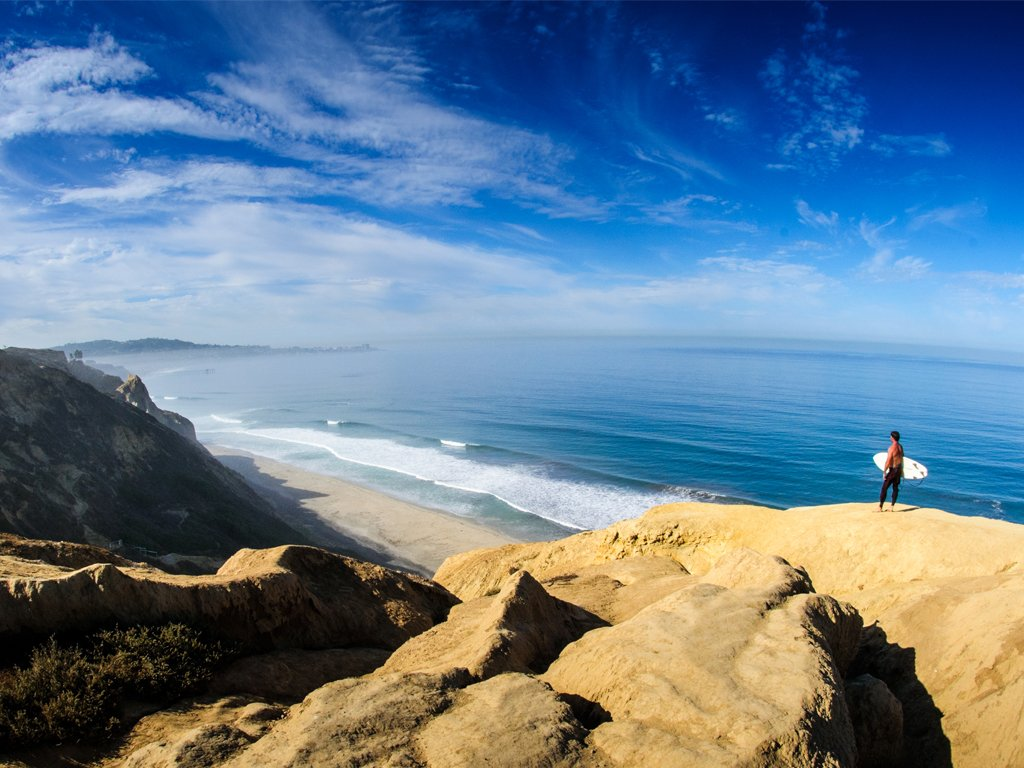 Explore kilometres of smiles in San Diego, from beach-side bliss to big city adventures.