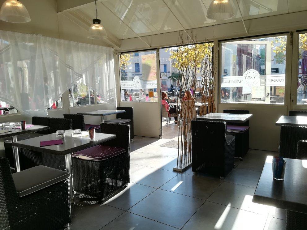 Le lust restaurant glaces artisanales martigues for Restaurant le miroir martigues