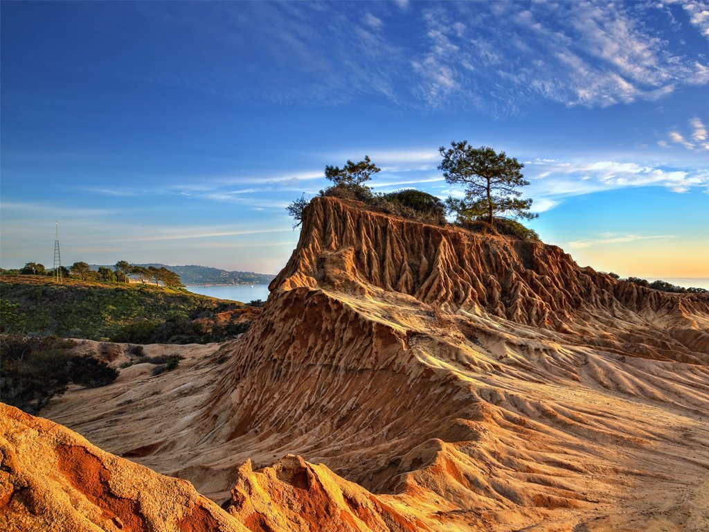 Take a scenic hike on the 700-hectare reserve, Torrey Pines State Natural Reserve.