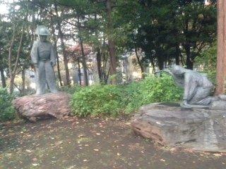Kuon Statue