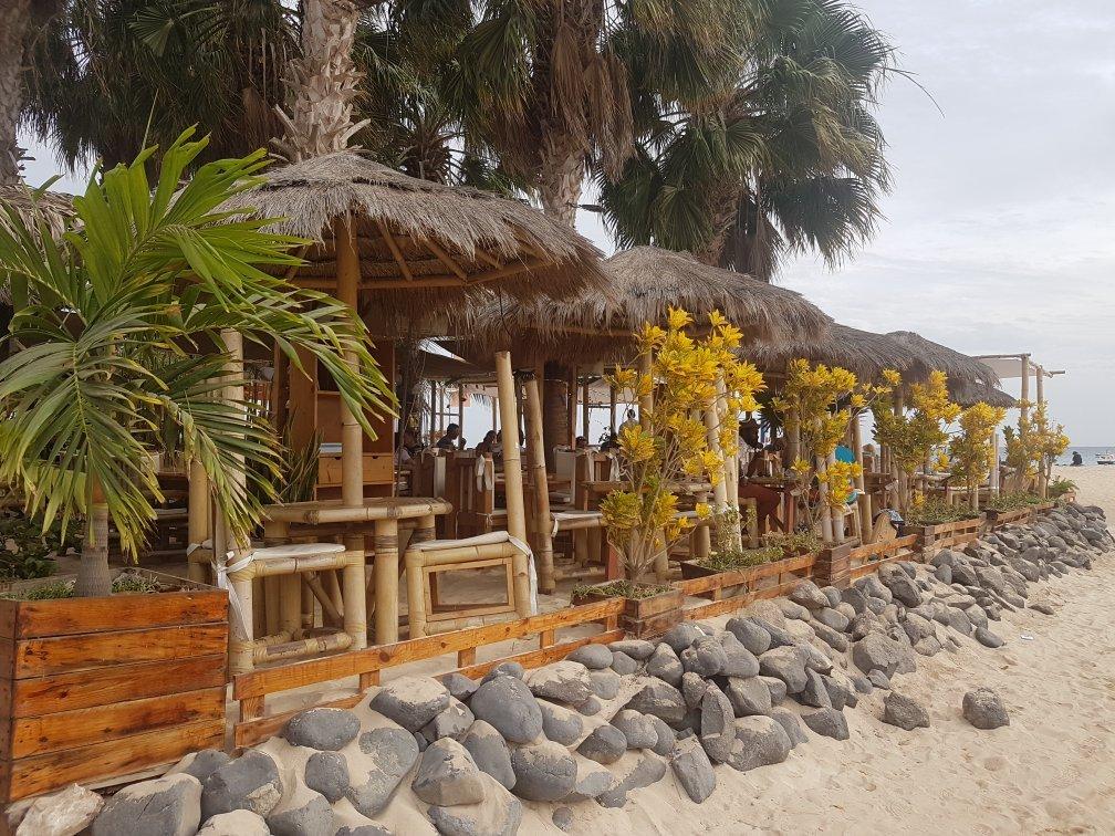 Cape Verde Map World%0A Palm beach restaurant Sal Cabo Verde Santa Maria