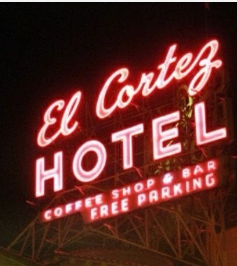 Barbershop at the El Cortez Hotel