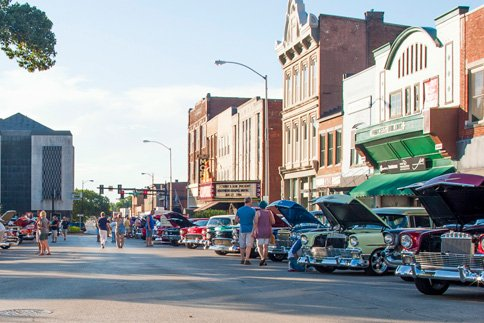 Host to dozens of national auto shows, Bowling Green is geared for hot rods!