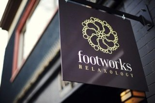 ‪Footworks Relaxology‬