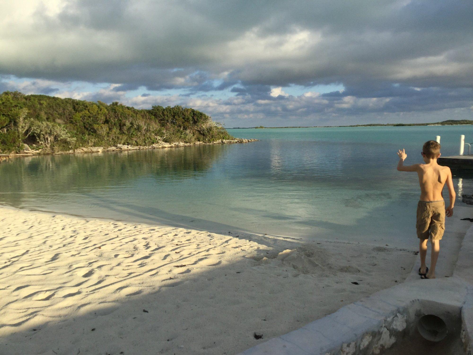 Notre plage privé(Bay view vacation rental villa #1)
