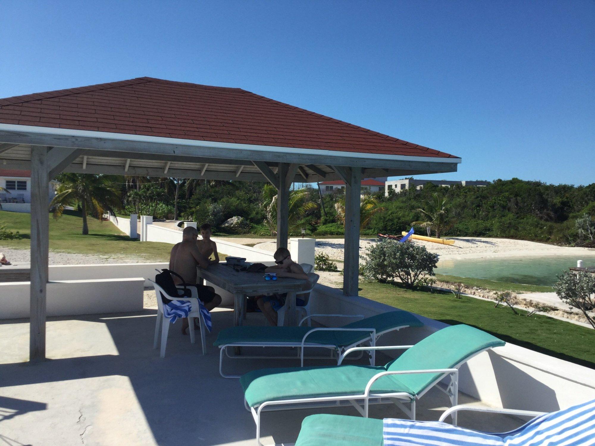 Une très utlise pergola(Bay view vacation villa#1)