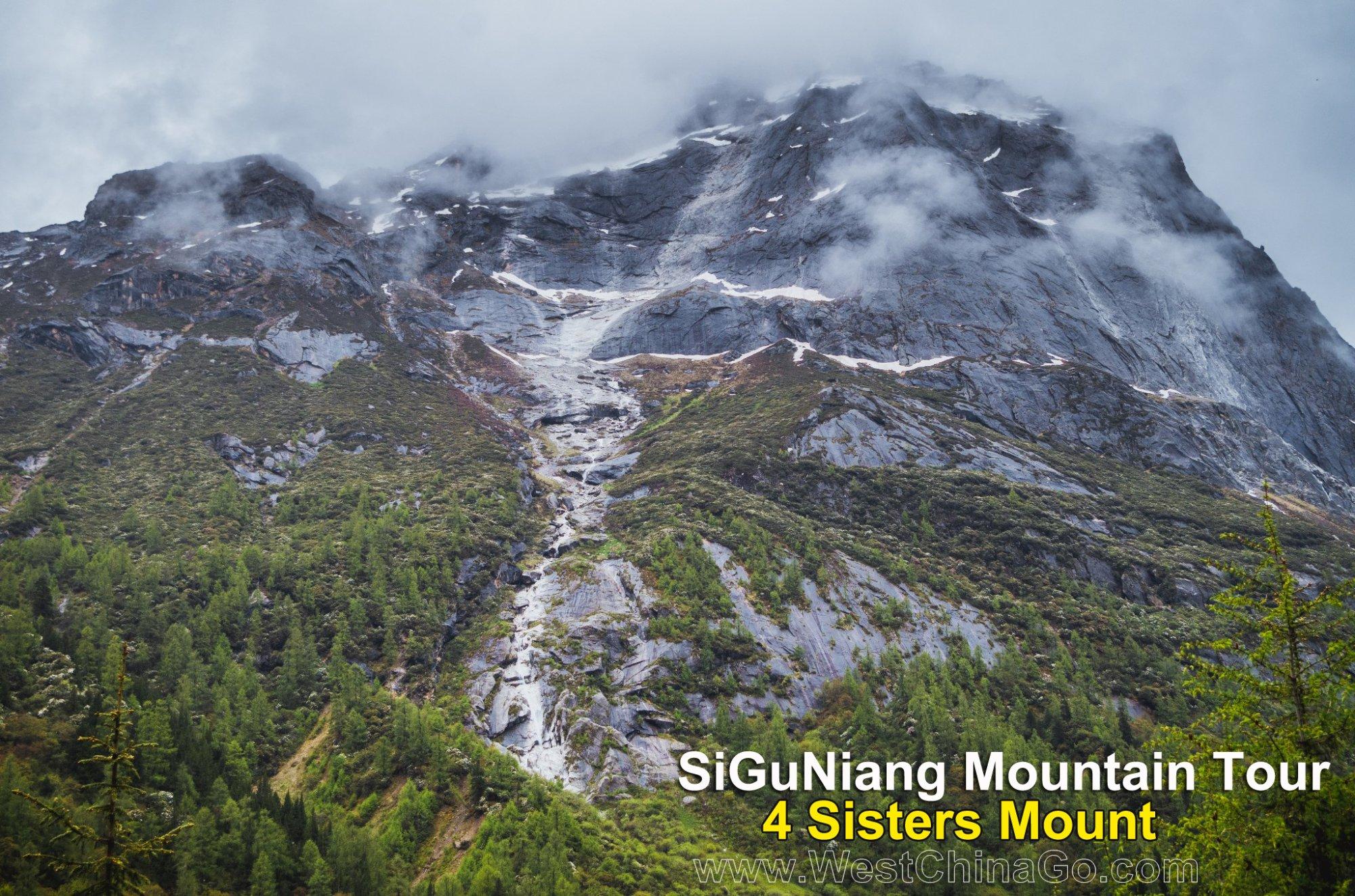 SiChuan Mount SiGuNiang Tour