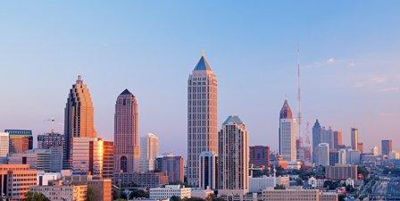 Atlanta Skyline Midtown