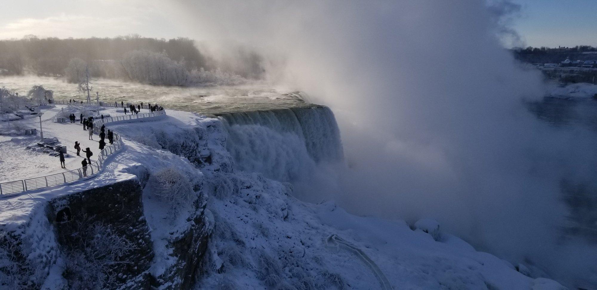 Niagara Falls December 28th, 2018