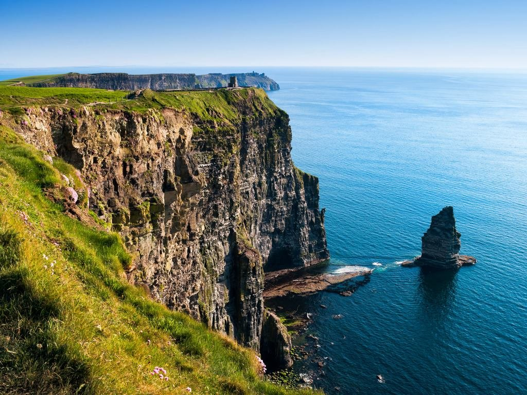 The Cliffs of Moher in County Clare. Photo provided by Tourism Ireland