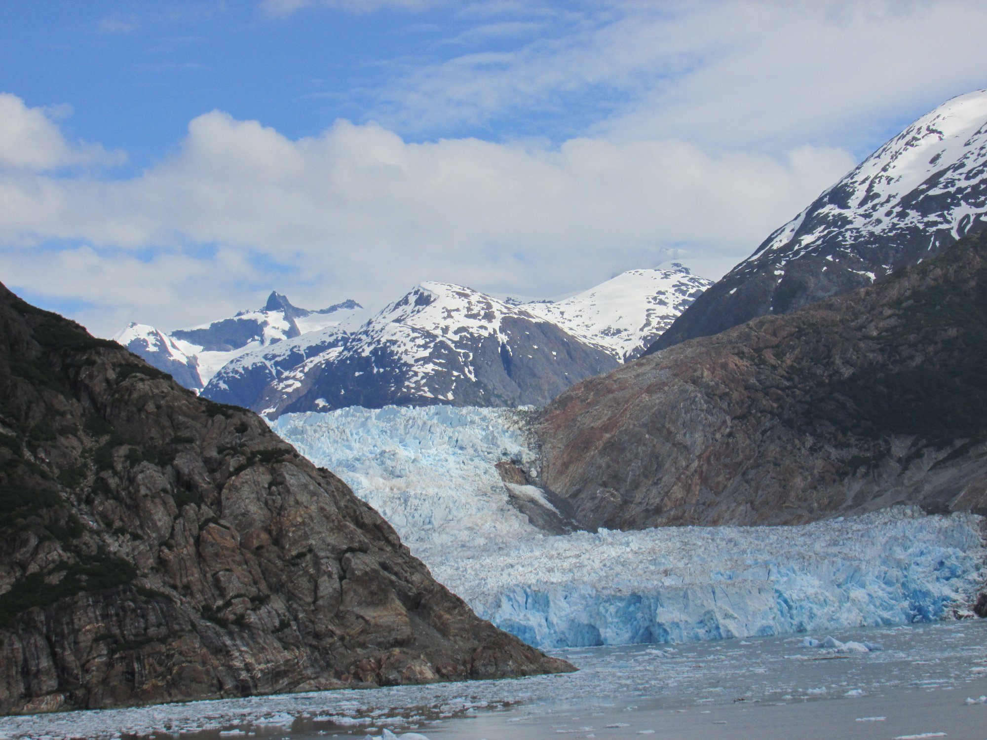 Breathtaking view of the glacier