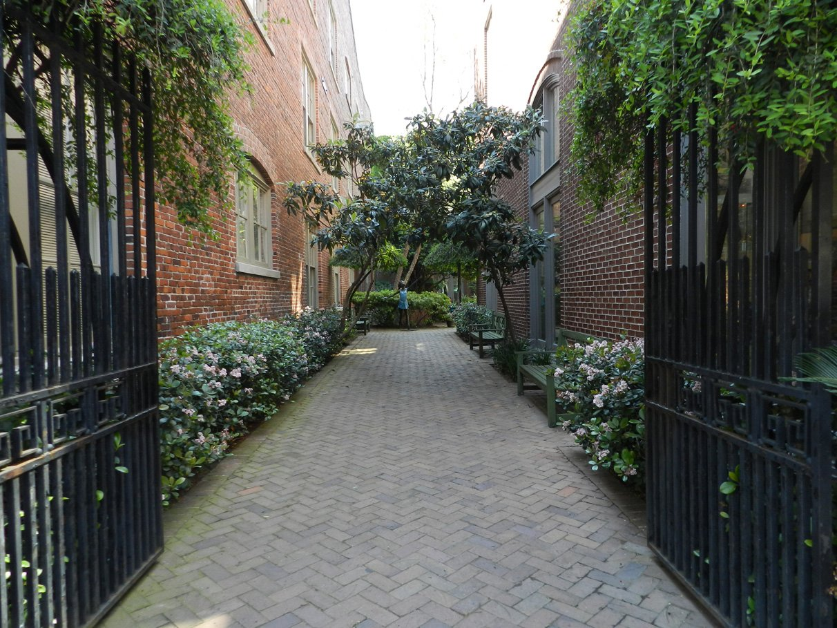 Secret Garden in Charleston, South Carolina