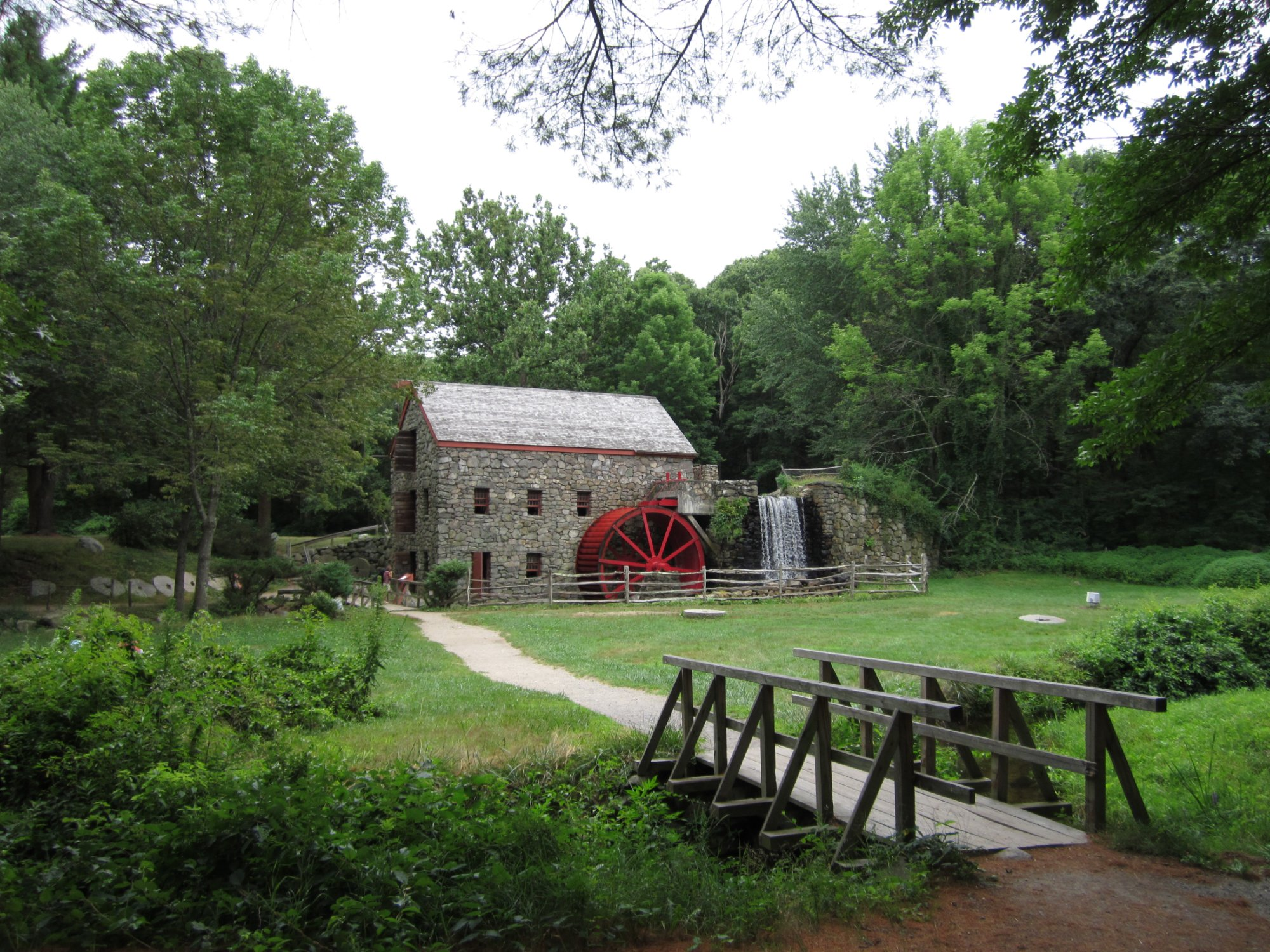 Gristmill at Historic Longfellow's Wayside Inn, Sudbury, Massachusetts