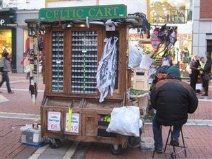 The Celtic Cart - Grafton Street