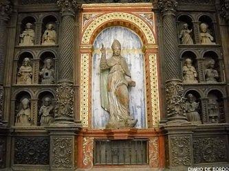 Capela e retabulo de Sao Bras